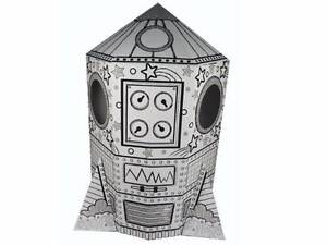 Rocket Cardboard Cubby House - Playhouse - Back to school Macquarie Park Ryde Area Preview
