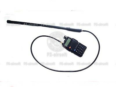 Antenna Extension Cable for Baofeng Radio(PRC-148 152 mbitr,devgru,Harris,thales