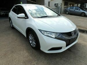 2013 Honda Civic 9th Gen MY13 VTi-S White 5 Speed Sports Automatic Hatchback Yeerongpilly Brisbane South West Preview