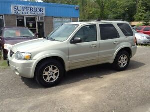 2005 Ford Escape Limited Fully Certified and Etested!