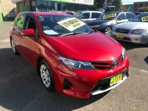 2014 Toyota Corolla ZRE182R Ascent Red Constant Variable Hatchback Lidcombe Auburn Area Preview