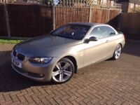 BMW 3 Series 335i SE convertible 2 door Semi-automatic 2008 with ONLY 24250 miles