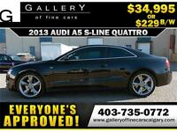 2011 Audi A5 Coupe 2.0T AWD $229 bi-weekly APPLY NOW DRIVE NOW