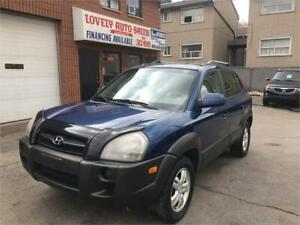 2006 Hyundai Tucson GL,LEATHER HEATED SEATS