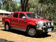 2015 Toyota Hilux GUN126R SR5 Double Cab Red 6 Speed Sports Automatic Utility Kalamunda Kalamunda Area Preview
