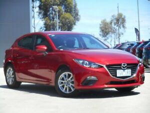 2016 Mazda 3 BN5478 Neo SKYACTIV-Drive Soul Red 6 Speed Sports Automatic Hatchback Ravenhall Melton Area Preview