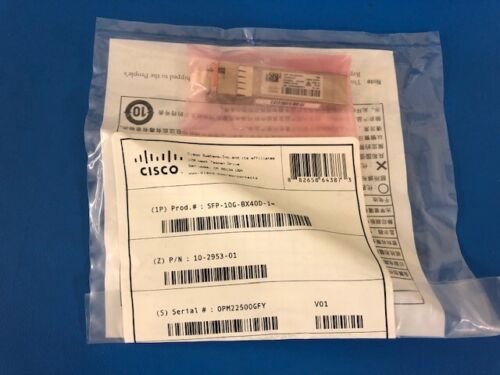 NEW CISCO SFP-10G-BX40D-I