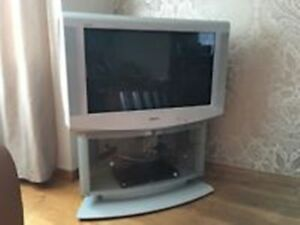 "SONY Trinitron 32"" CRT TV, with Cabinet Stand"