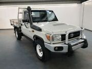 2013 Toyota Landcruiser VDJ79R MY13 WORKMATE White Manual CAB CHASSIS SINGLE CAB Albion Brimbank Area Preview