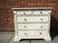 Cream drawer unit