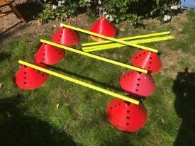 Football Training Cones & Poles