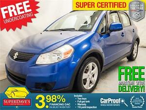 2012 Suzuki SX4 Crossover Base *Warranty*