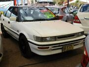 1993 Toyota Corolla AE92 SE White 3 Speed Automatic Hatchback Minchinbury Blacktown Area Preview