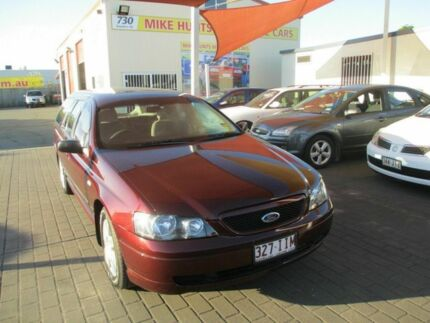 2004 Ford Falcon BA XT Maroon 4 Speed Auto Seq Sportshift Wagon Coopers Plains Brisbane South West Preview
