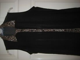 NEW SLEEVELESS FINE COVER UP / OVERTOP- SIZE 14
