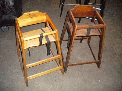 Lot Of 2 Children Restaurant High Chairs - Must Sell Send Any Any Offer