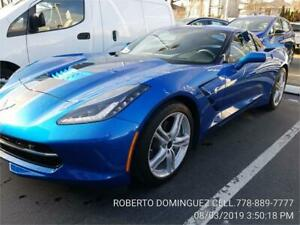 2016 Chevrolet Corvette 3LT COUPE 3LT ONLY 4336 KM
