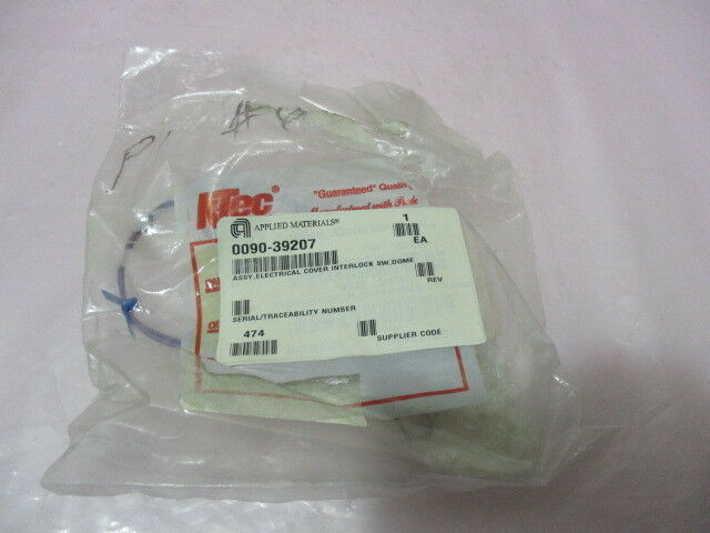 AMAT 0090-39207 Assembly, Electrical Cover Interlock SW, Dome, 419335