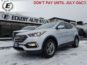 2017 HYUNDAI SANTA FE SPORT AWD  DON'T PAY UNTIL JULY OAC!!