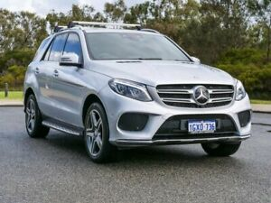 2016 Mercedes-Benz GLE-Class W166 GLE250 d 9G-Tronic 4MATIC Silver 9 Speed Sports Automatic Wagon
