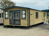 WOODEN LODGE STATIC CARAVAN FOR SALE OFF SITE CABIN GLAMPING