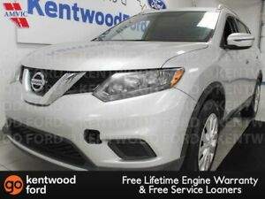 2016 Nissan Rogue SL AWD with a back up cam and sparkling silver