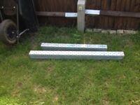 2x box steel lintels
