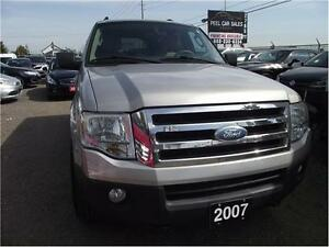 2007 Ford Expedition XLT**AWD**NO ACCIDENT**3 YRS WARRANTY INCLU