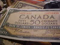 1954 Fifty Dollar Note.