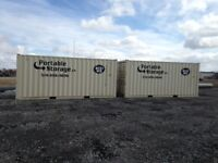 Rent or Own 20' or 40' Portable Storage Containers