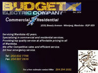 Budget Electric - Skilled/Certified Electricians
