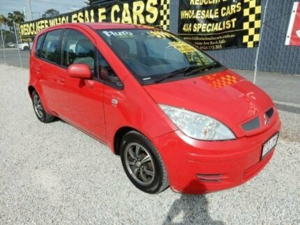2005 Mitsubishi Colt RG LS Red 1 Speed Constant Variable Hatchback