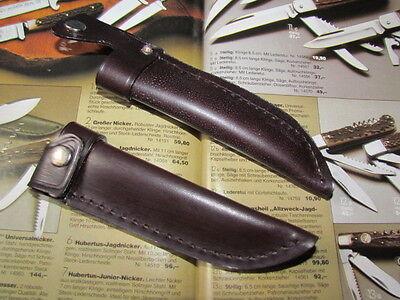 SOLINGER STILETTMESSERSCHEIDE Farbe Braun für Messer mit 12 cm KLINGENLÄNGE