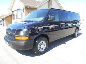 2009 CHEVROLET Express 15Passenger LS Extended ONLY 110,000KMs