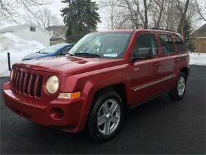 2010 JEEP PATRIOT NORTH EDITION + 4X4 + 90073KM + GARANTIE 1 AN
