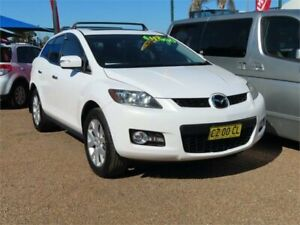 2009 Mazda CX-7 ER1032 Classic Activematic Sports White 6 Speed Sports Automatic Wagon Minchinbury Blacktown Area Preview