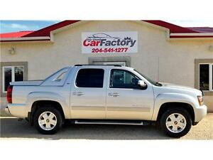 2012 Chevrolet Avalanche LT 4WD Heated and cooled seats