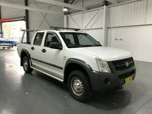 2006 Holden Rodeo RA MY06 Upgrade LX White 5 Speed Manual Crew Cab Pickup