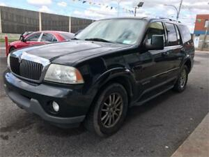 2003 Lincoln Aviator              OCCATION A NE PAS RATER