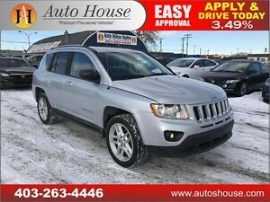 2012 Jeep Compass Limited 4X4 LEATHER HEATED SEATS LOW KM!