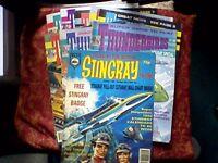 THUNDERBIRDS/STINGRAY COMICS/BOOKS - RETRO/VINTAGE 1992