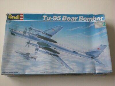 REVELL 4727 Tu-95 BEAR BOMBER 1:144 PLASTIC MODEL KIT1992See Pictures.