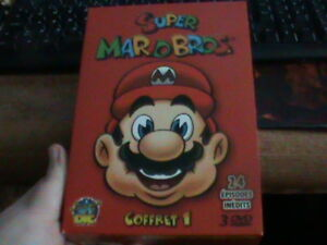 Super mario bros dvd box set