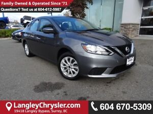 2016 Nissan Sentra 1.8 SV *ACCIDENT FREE*ONE OWNER*LOCAL BC CAR*