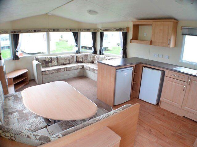 Amazing 6 berth static caravan for sale Dumfries Scotland Aye Lanarkshire Glasgow Saltcoats