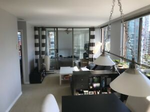 Large 1 BR+Den July 1 10th Fl 888 Pacific Yaletown $2095/month