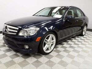 2010 Mercedes-Benz C-Class LOW KMS!   GREAT CONDITION!   AWD   N