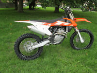 KTM SX 350 2016 MOTOCROSS MOTORCYCLE