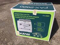 brotghor laserfax lasercopier FAX2920