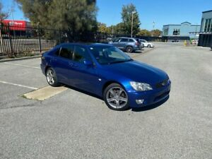 2001 Lexus IS JCE10R IS300 Sports Blue 5 Speed Sports Automatic Sedan Mile End South West Torrens Area Preview